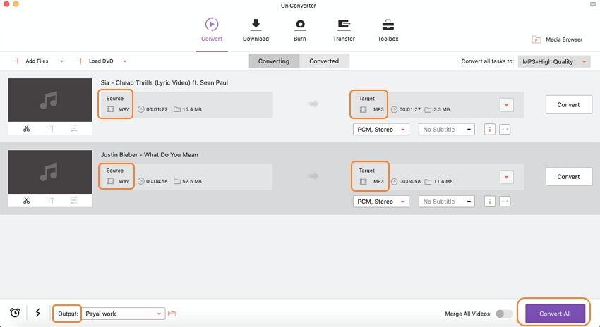 convert audio on Mac easily