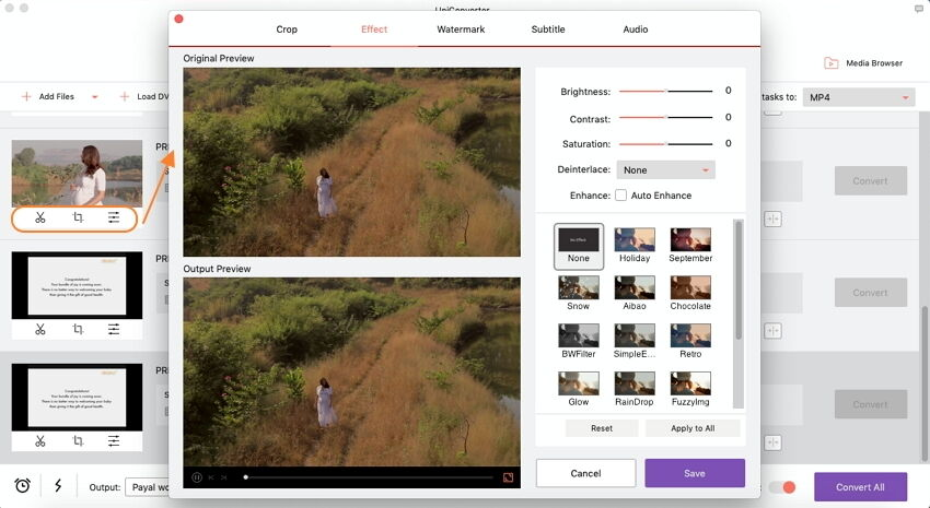 edit DVD videos on Mac
