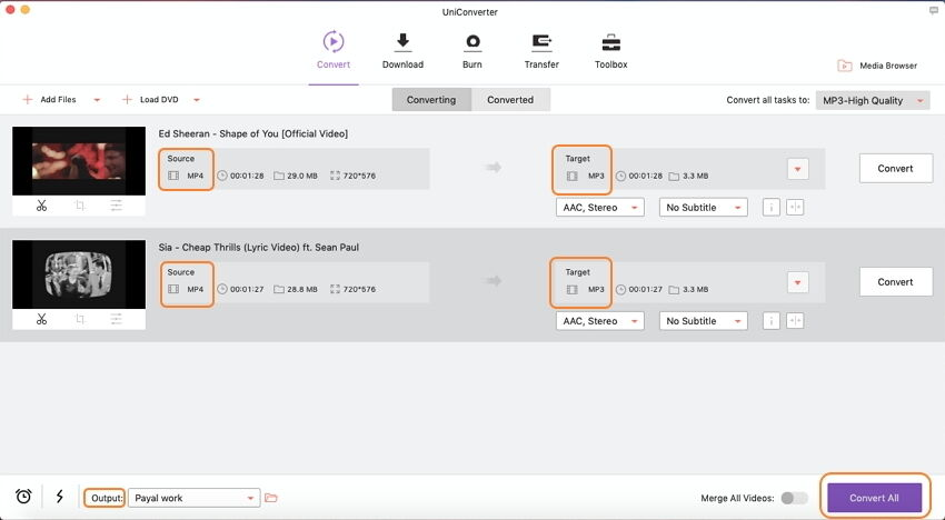 convert video to audio Mac easily