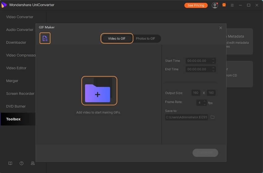 converter vídeo para GIF