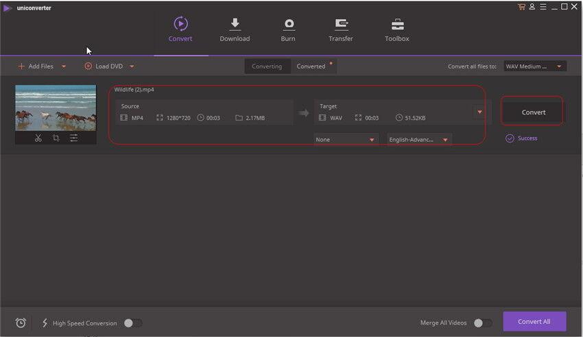 MP4 to WAV Converters Online - Convert MP4 to WAV