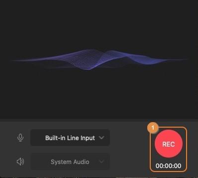 start audio recording