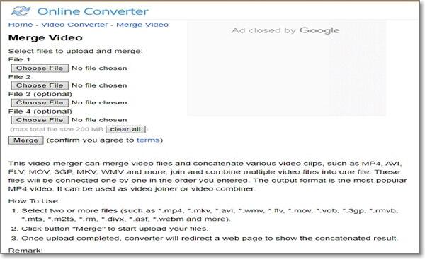 convert movie to imovie online by Onlineconverter