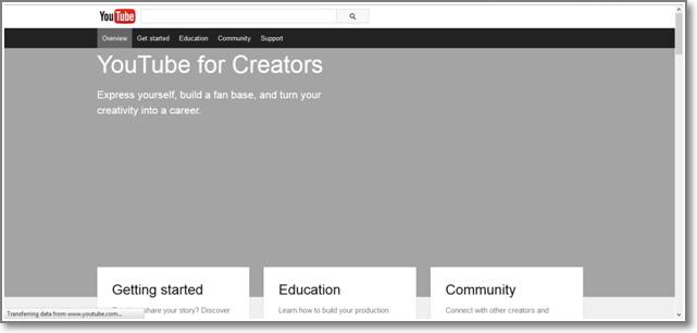 Alternativas on-line do iMovie-Editor de vídeo do YouTube