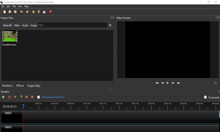 imovie for windows -OpenShot
