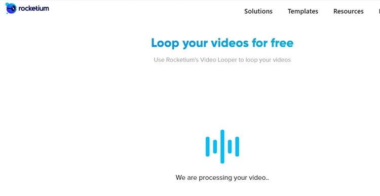 how to Make iMovie Loop video Online-Rocketium