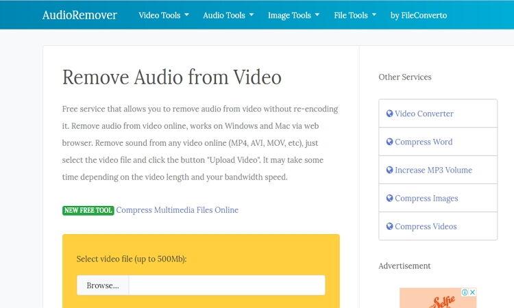 Audio Remover Tools-Audioremover