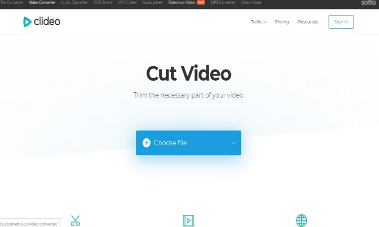converter filme para imovie online com o Clideo