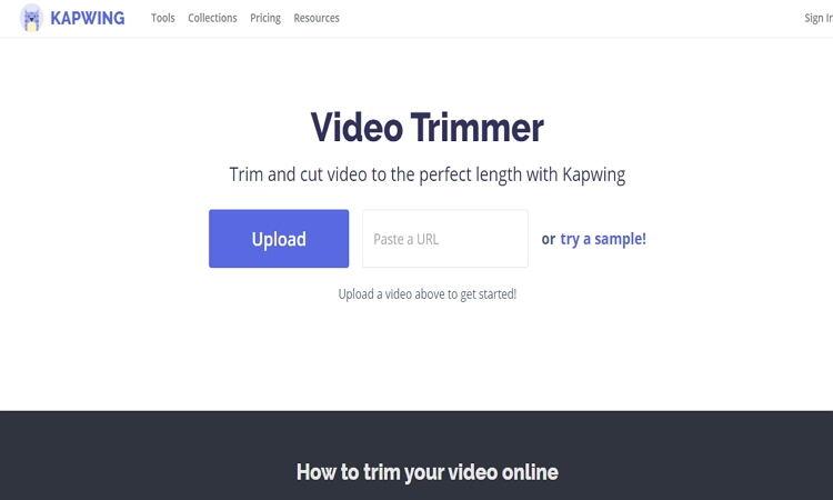 converter filme em filme online por Kapwing