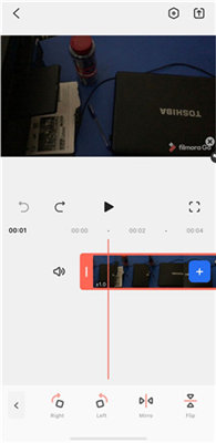 change video orientation iphone