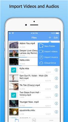 converter vídeo em áudio iphone app