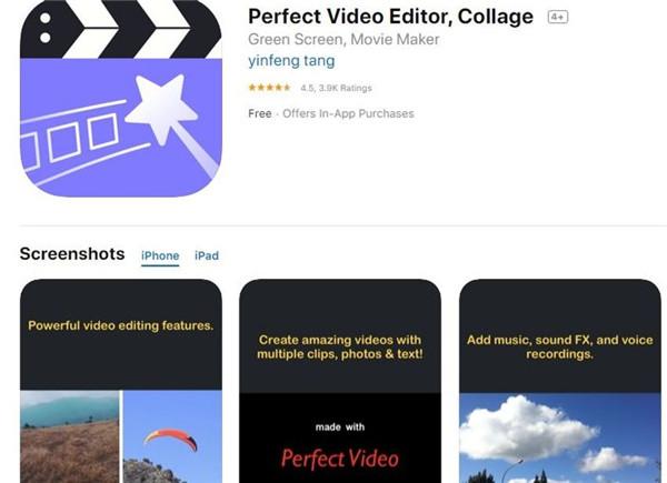 perfekter Videoeditor