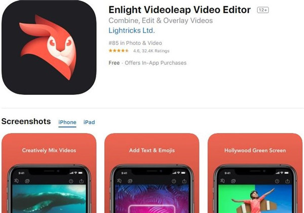 video brightness editor app iphone