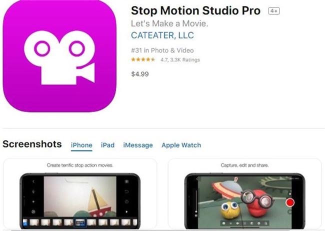 estúdio de stop motion pro