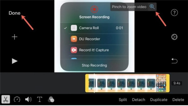 crop video iphone