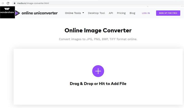 visit online uniconverter website
