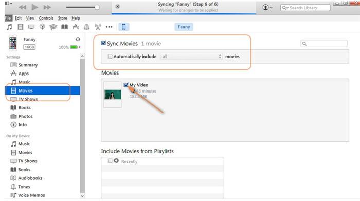 mac to iphone video