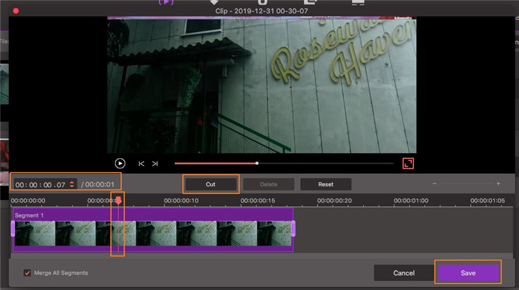 trim video for iphone