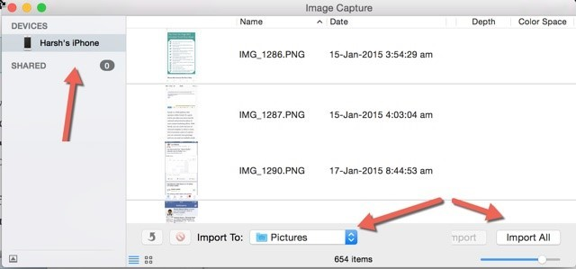 how to upload videos from iphone to mac