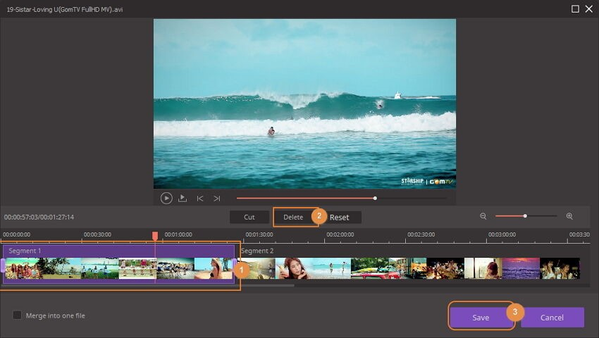 trim video on wondershare uniconverter