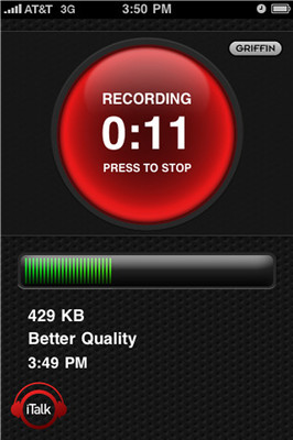 how to record high quality audio on iphone