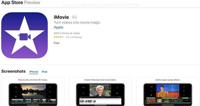 remove audio from video imovie iphone