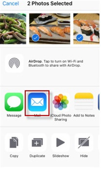 how to resize an image on iphone