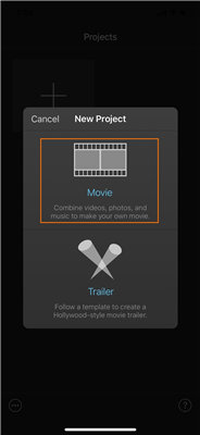 how to zoom video on iphone