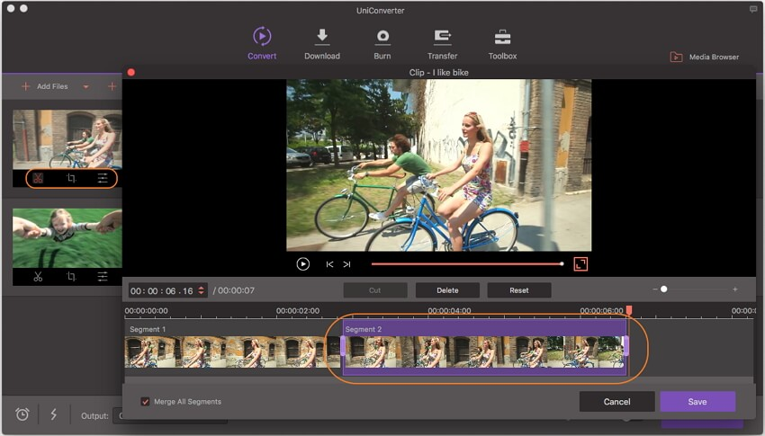 edit AVI videos before converting to iTunes