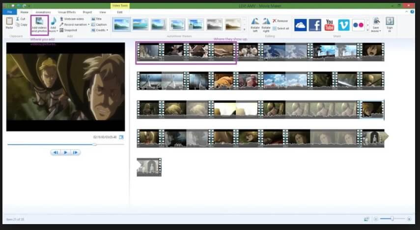 edit m4v files in windows movie maker