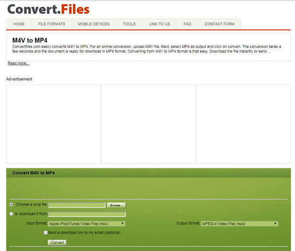 convert M4V to MP3 online