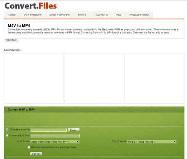 convertir M4V en MP3 en ligne