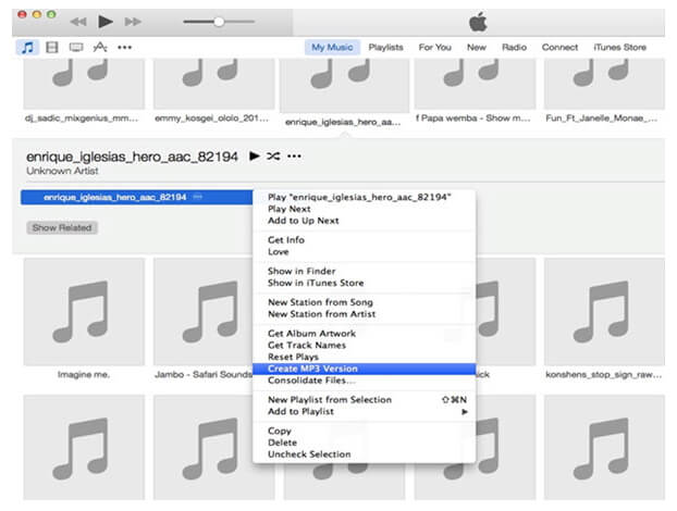 convert WMA to MP3 using iTunes