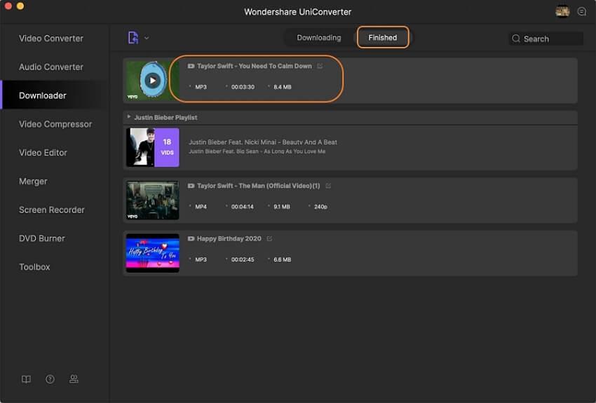 تحويل مقاطع YouTube إلى تنسيق MP3 لنظام Mac