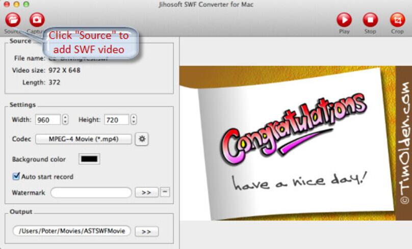 Jihosoft SWF Converter