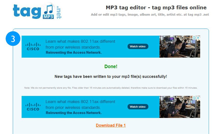 tag mp3 editor online