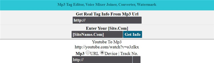 online video tag editor