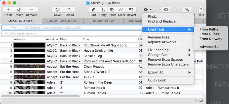 Meta music tag editor Mac
