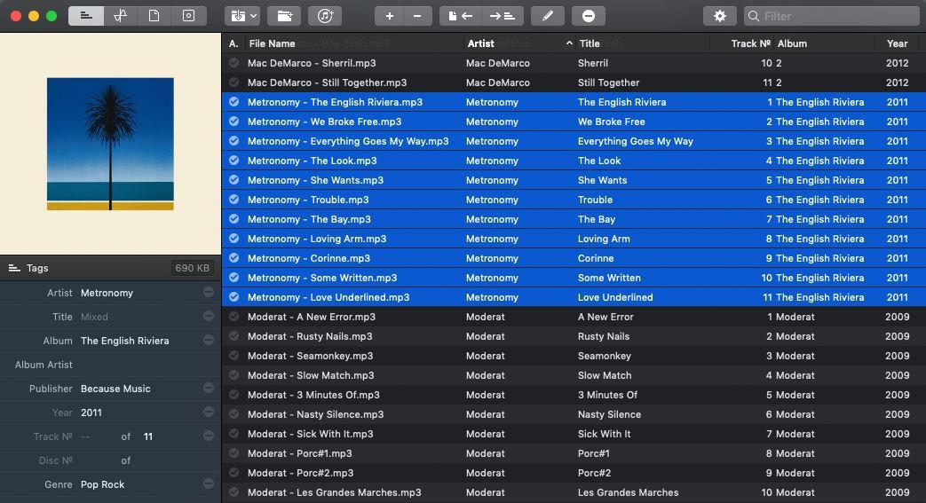 music tag editor Mac software
