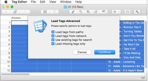 tag editor free