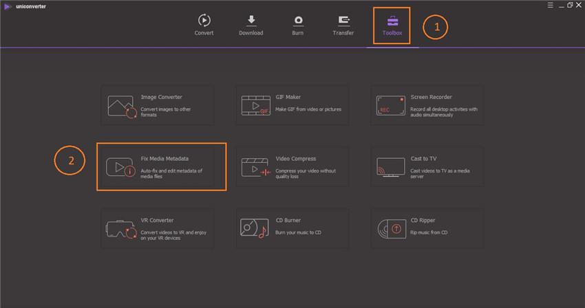 video metadaten editor