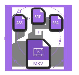 Add SRT to MKV