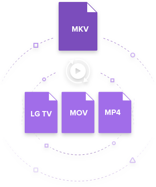 MKV to LG TV