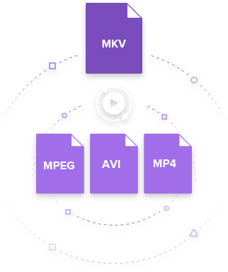 convert MKV to MPEG