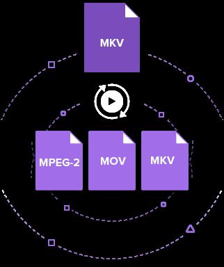 MKV to MPEG-2 Converter