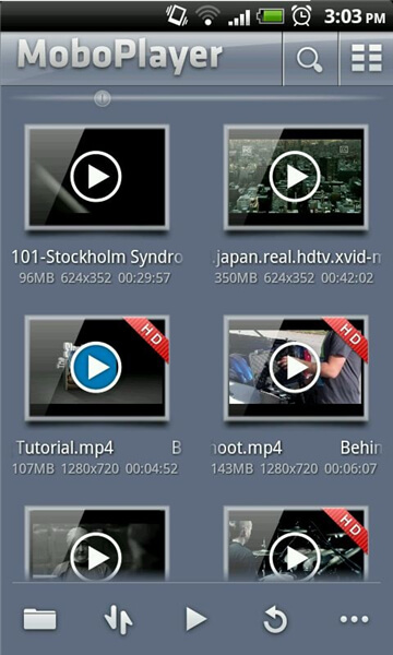 MKV-Player für Android