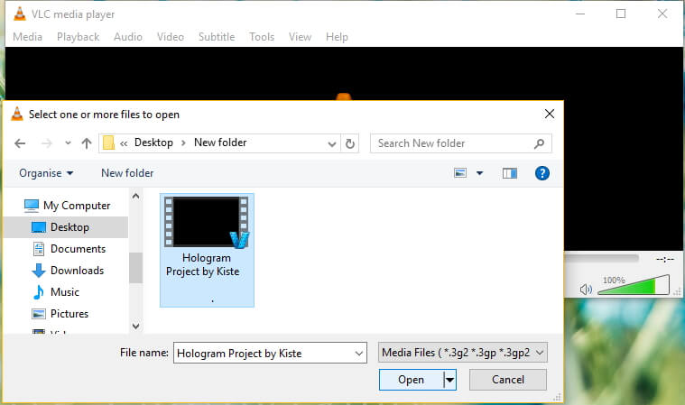 Play MKV Files in VLC