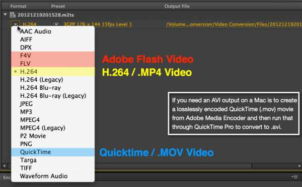 Konvertieren Sie FLV in MOV mit Adobe Media Encoder
