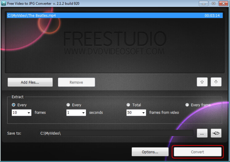 convert mov to jpg free