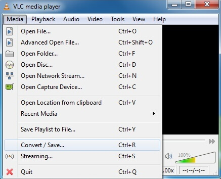 convert mov to wmv with vlc